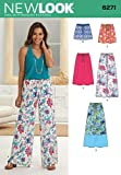 Simplicity Creative Patterns New Look 6271 Misses' Skirt in Three Lengths and Pants or Shorts, A (10-12-14-16-18-20-22)