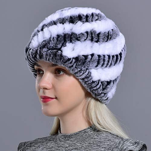 OG-Renstky Snow Choice Cap Winter Max 61% OFF Hats for Real Fur Women Knittin Girls