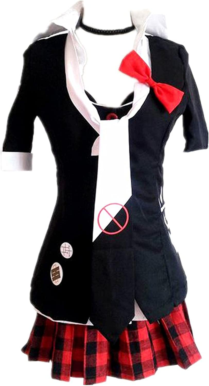 service Cosplay Costume for Enoshima Junko Short Maid sleeve Price reduction Dress Apron