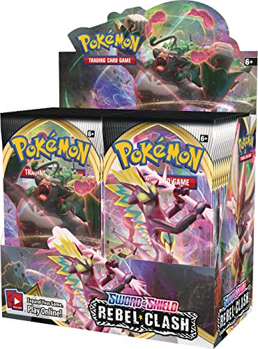 Pokémon POK81681 Pokemon TCG: Sword & Shield 2 Rebel Clash Booster...