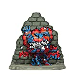 Funko Pop Deluxe 49544 Marvel Spider-Man Graffiti Street Art - Exclusive Edition #762
