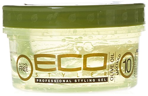Eco Style Olive Oil Gel, 8 Ounce (ECOOLV08)