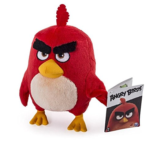 Angry Birds - Peluche, 30 cm - Red