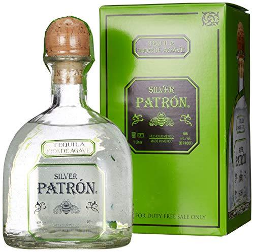 Patrón Tequila Silver mit Geschenkverpackung (1 x 1 l)