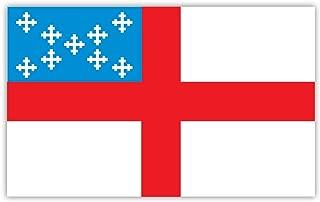 Episcopal church flag sticker decal 5