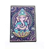 Cuaderno de punto de cruz, bloc de notas pequeño con diseño de diamantes, cuaderno con hojas blancas para hombres, cuaderno para bocetos regalo creativo elefante cuadernos de notas para regalo