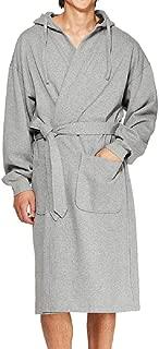Hanes Men's Athletic Fleece Hooded Robe, One Size