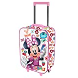 Karactermania Minnie Mouse OhMy!-Soft 3D Trolley Suitcase Children's Luggage, 52 cm, 23 liters;,Multicolour