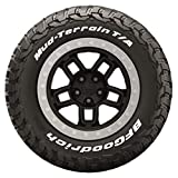 Tire Stickers Pegatinas para neumáticos – BFGoodrich Letras Oficiales para neumáticos KM3 – Accesorio para neumáticos – Edición Blanca – (1 neumático)