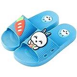 Zapatillas de Estar por Casa Conejo Dibujos Animados de Interior para Niñas Niños Zapatos de Playa y Piscina Chanclas Sandalias de Verano Antideslizante Fannyfuny