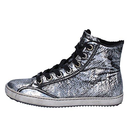 Cult Sneakers Damen Leder schwarz 36 EU