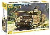 ZVEZDA 500785017 - 1:72 Panzer IV Ausf.H (Sd.Kfz.161/2), Modellbau, Bausatz, Standmodellbau, Hobby, Basteln, Plastikbausatz -