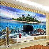Xzfddn Hd Underwater World Organismo Marino Foto Mural Papel pintado Sala Acuario Decoración Interior Papel pintado 3D