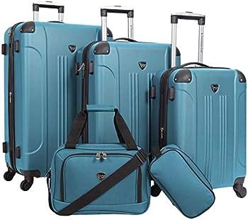 Travelers Club Sky+ 5-Piece Luggage Set