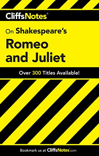 CliffsNotes on Shakespeare's Romeo and Juliet (Cliffsnotes Literature) (Cliffsnotes Literature Guide