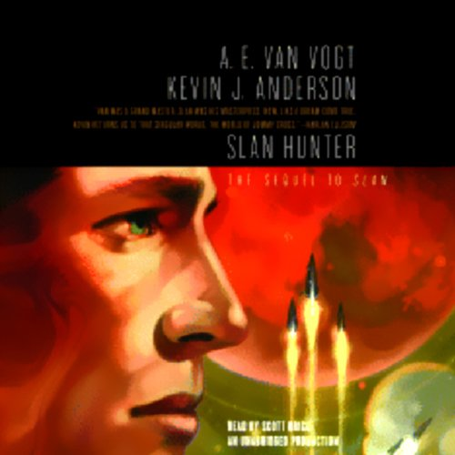 Slan Hunter audiobook cover art