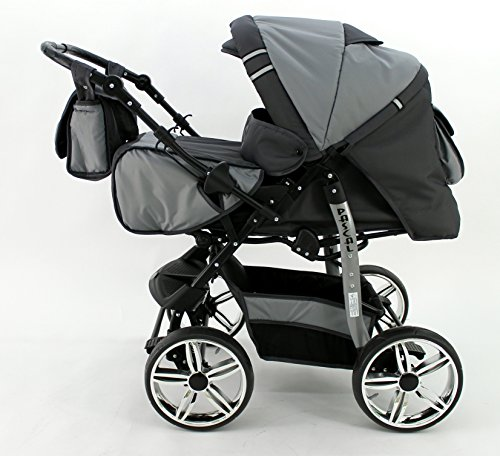 Kombi Kinderwagen Travel System Pascal 2in1 Kinderwagen Buggy Stroller Poussette (21)