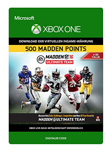 Madden NFL 16 500 Points [Xbox One - Download Code]
