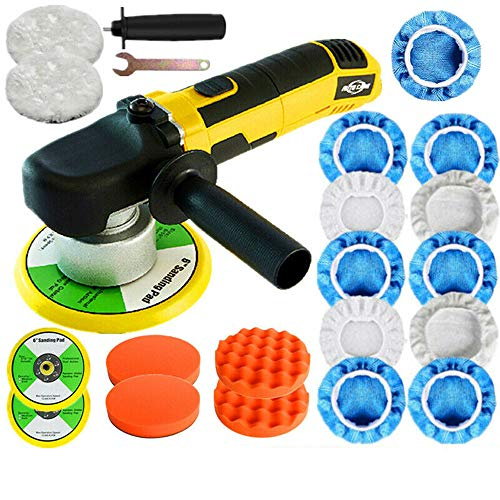 """Autocare 6"""" 680W Dual Action Car Polisher Electric Buffer Sander Waxer Machine 6 Speed US"""