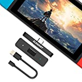 ELEGIANT Trasmettitore Bluetooth 5.0, Adattatore Audio Wireless per Nintendo Switch Cuffie Altoparlanti Stereo TV PC DTV PS4 Tablet Laptop Huawei Samsung iPhone Smartphone e Altri con USB e Type-C