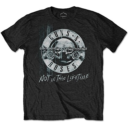 Guns n Roses Not in This Lifetime Tour BW Slash offiziell Männer T-Shirt Herren (Large)