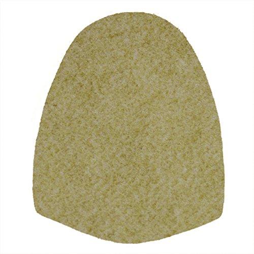 bowlingball.com Replacement Bowling Shoe Slide Soles (Grey Felt (S10))
