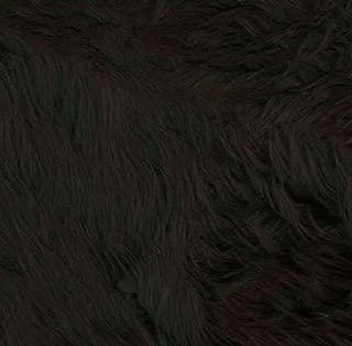 Shannon Faux Fur Luxury Shag Black