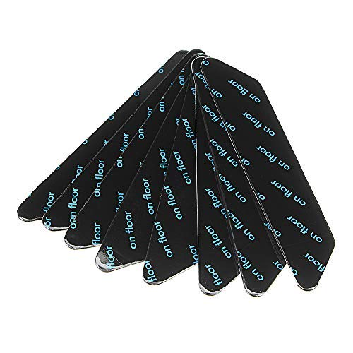 Anti-Rutsch-Teppichpolster, abnehmbar, wiederverwendbar, 8 Stück