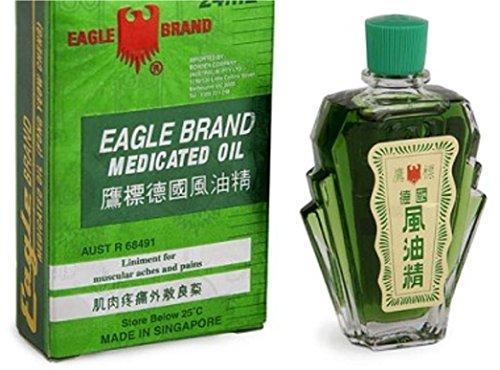 Eagle Brand Medicated Oil | 24ml | natürliche Kräuter/Öl - Komposition