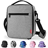 Yookeehome Lunch Box Insulated Lunch Bag with Zipper with Shoulder Strap for...