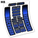 Rock Shox Judy 2021 Pegatinas en Vinilo Adhesivo Horquilla (MB - Medium Blue)