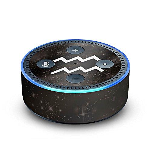 DeinDesign Cover kompatibel mit Amazon Echo Dot 2.Generation Folie Skin Sticker aus Vinyl-Folie Sternzeichen Wassermann Future