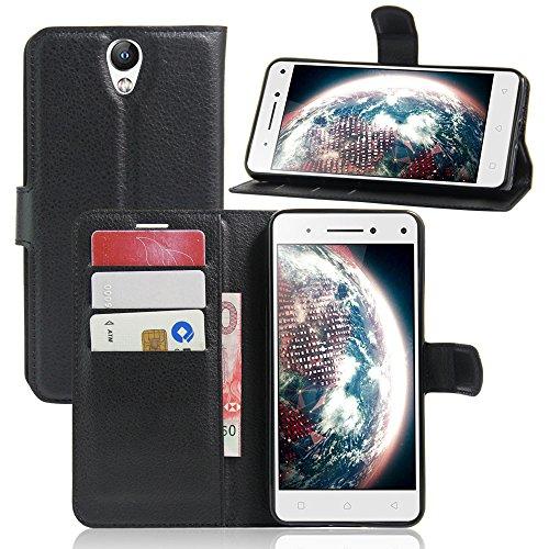 Litao-Case CN Hülle für Lenovo Vibe S1 Lite hülle Flip Leder + TPU Silikon Fixierh Schutzhülle Case 9