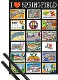 1art1 Die Simpsons Poster  91x61 cm  Postcards Ink