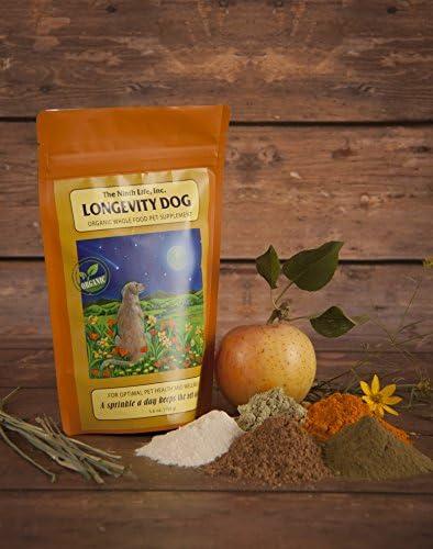 The Ninth Life, Inc. Organic Dog Vitamin Supplement - Longevity Dog