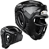Farabi Sports, caschetto da allenamento per boxe, MMA, Muay Thai, casco integrale di protezione per...