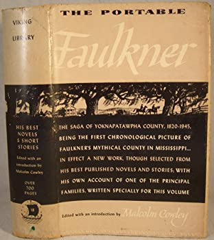 Hardcover The Portable Faulkner, edited by Malcolm Cowley. Book