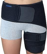Hip Brace - Sciatica Pain Relief Brace - Thigh Hamstring Compression Support Wrap - Stabilizer for Groin, Hip Flexor, SI Joint for Labral Tear, Arthritis, Bursitis, Sciatic Nerve pain for Men Women