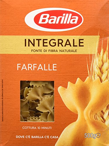 Barilla Pasta Integrale Farfalle di Semola di Grano Duro - 500 g