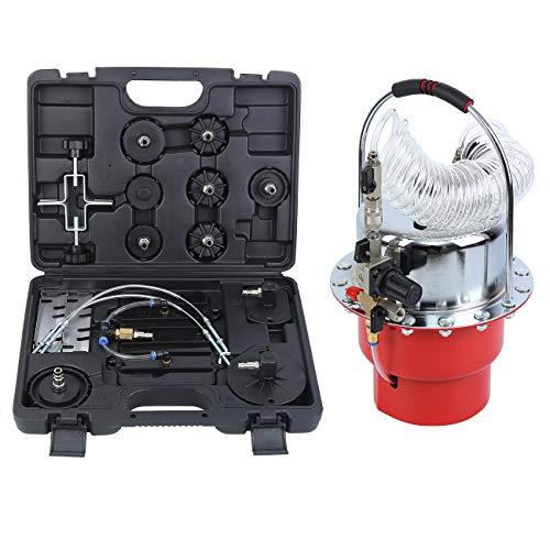 Honhill 5.5L Kit de herramienta neumática de purga de presión de aire Kit de purga de garaje profesional