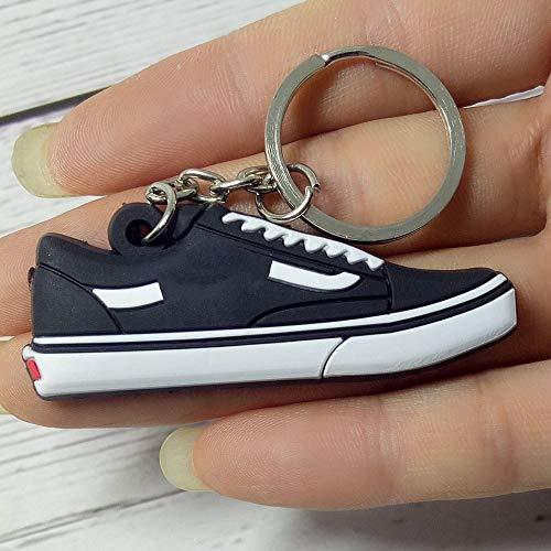 DQH Fqdqh Llavero exótico del Zapato Retro Clave Cadena de los Hombres...