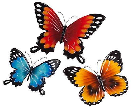 Metal Butterflies Set of 3 by Maple Lane Creations