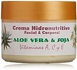 Bionatural 11330 - Crema hidronutritiva facial y corporal con aloe, soja y vitaminas