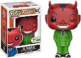Funko POP! ECCC 2017 El Diablo Green Suit Emerald City Comic Con