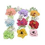 Xurgm Troqueles de corte de flor para scrapbooking, plantilla de repujado para Sizzix Big Shot y otras máquinas de troquelado