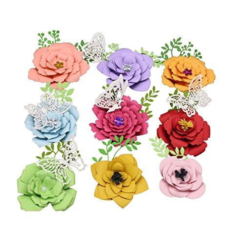 Xurgm Stanzschablone Blume Scrapbooking Stanzschablone Embossing Machine Schablonen Schneiden Stanzformen, für Sizzix Big Shot und Andere Stanzmaschine