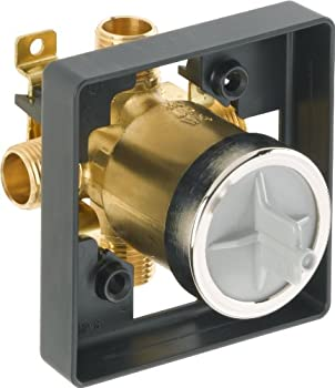 DELTA R10000-UNBX MultiChoice Universal Tub and Shower Valve Body for Tub Faucet Trim Kits