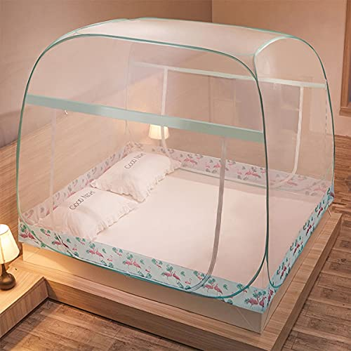 LFLLFLLFL Mosquiteras IKEA Mosquitera para Cama Mosquitera Cama Matrimonio Interior Y Exterior Mosquitera Cuna Mosquitera Viaje (Color : C, Size : 180cm*200cm)