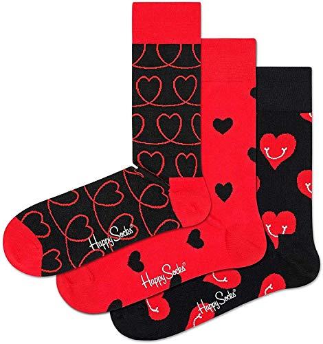 Happy Socks Men's I Love You Valentine's Day Gift Box 10-13