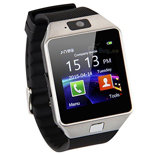 Buyee® DZ09 Bluetooth SmartWatch Handy-Uhr für Smartphone Samsung iphone HTC Android Phone with Kamera SIM